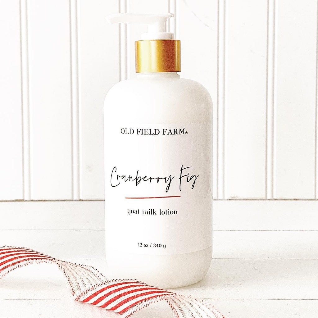 Old Field Farm Cranberry Fig Goat Milk Lotion