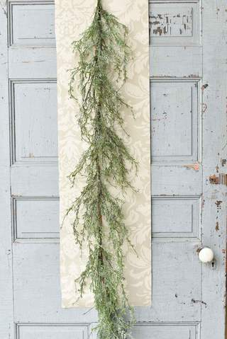 Ice Glazed Cedar Garland