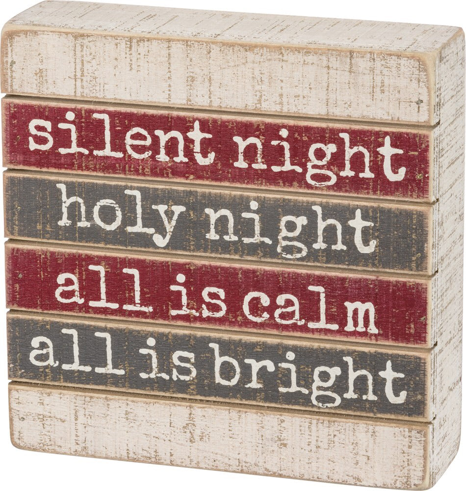 Slatted Silent Night