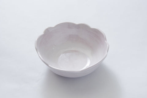 Scalloped Soup Bowl