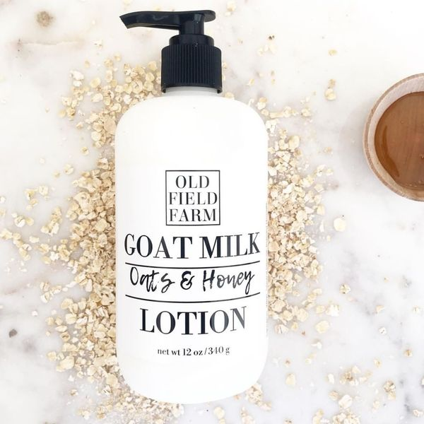 Old Field Oats & Honey Goat Milk Lotion