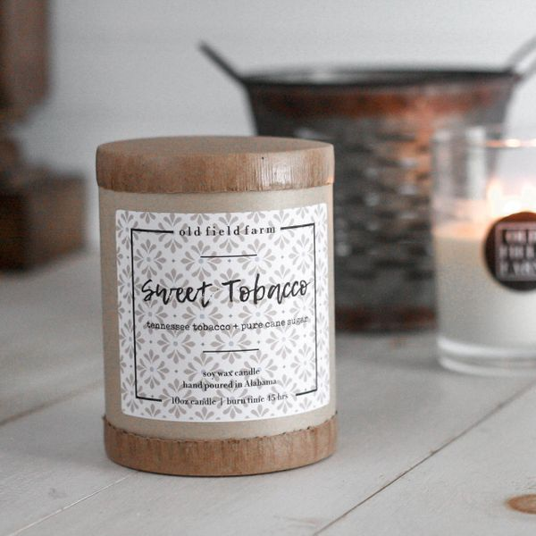 Old Field Farm Sweet Tobacco Candle