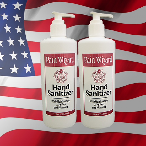 Buy 2 Pain Wizard Hand Sanitizers