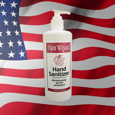 Pain Wizard - Hand Sanitizer 16oz ** NEW **