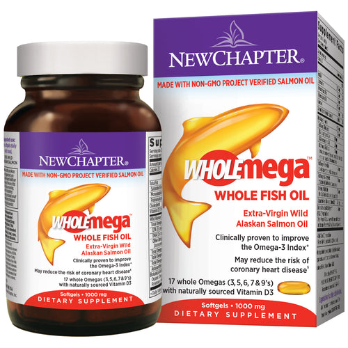 Wholemega Cold-pressed Fish Oil