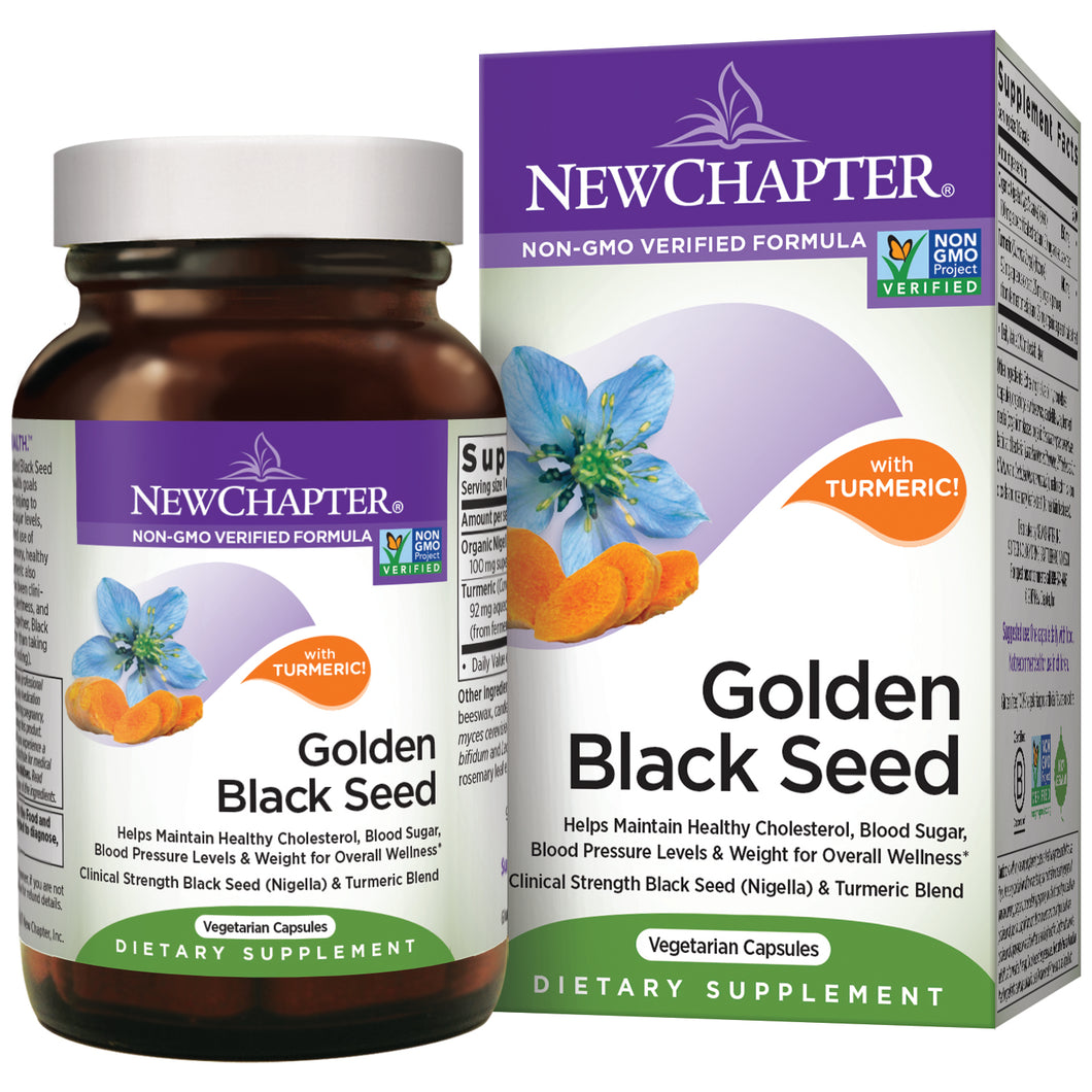 Golden Black Seed Powder with Turmeric