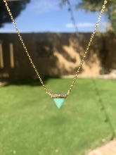 Resilient Necklace- Triangle Pendant