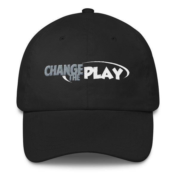 Change the Play Dad Hat Black