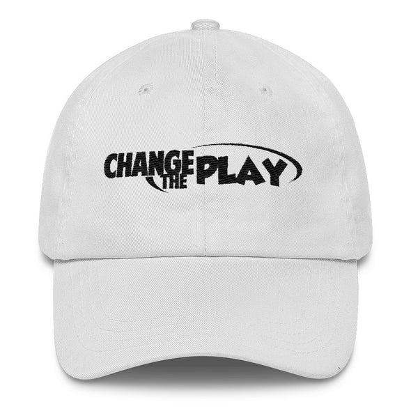 Change the Play Dad Hat White