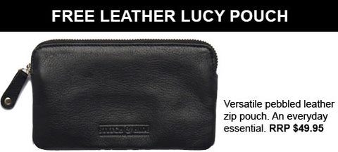 FREE LUCY POUCH STITCH & HIDE