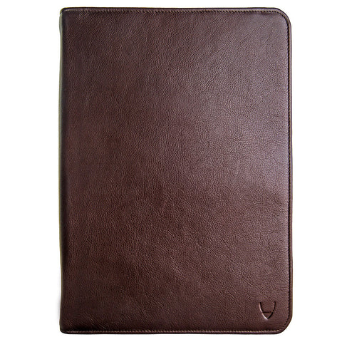Hidesign iPad Tablet Leather Portfolio Brown