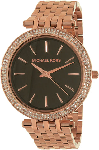 Michael Kors Women's MK3402 Rose-Gold Stainless-Steel Quartz Fashion Watch