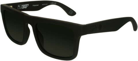 Spy Men's Polarized Atlas 673371973864 Black Square Sunglasses