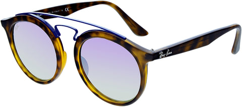Ray-Ban Men's New Gatsby RB4256-6266B0-49 Tortoiseshell Round Sunglasses