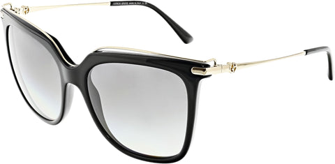 Giorgio Armani Women's AR8091-501711-55 Black Butterfly Sunglasses