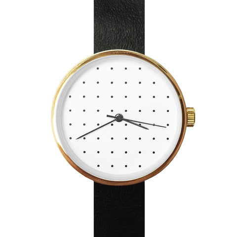 May28th Leather Women's Watch 05:36PM Black