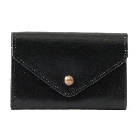 Paperthinks Recycled Leather Card Envelope Black