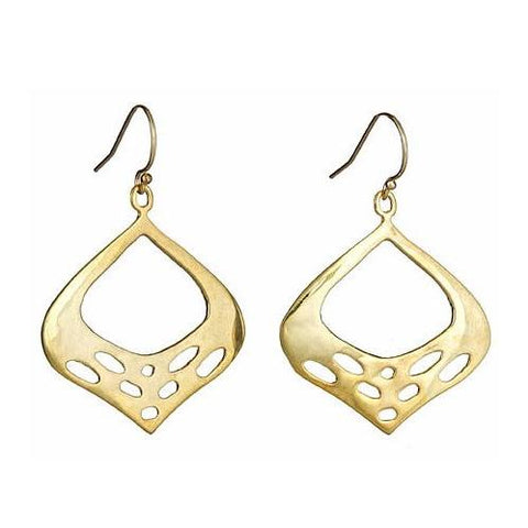 Alicia Marilyn Designs Egyptian Style Earrings Gold