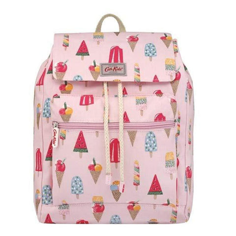 Cath Kidston Kids Summer Backpack Little Ice Cream With Carry Handle Light Pink