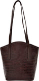 Hidesign Classic Bonn Leather Tote Brown