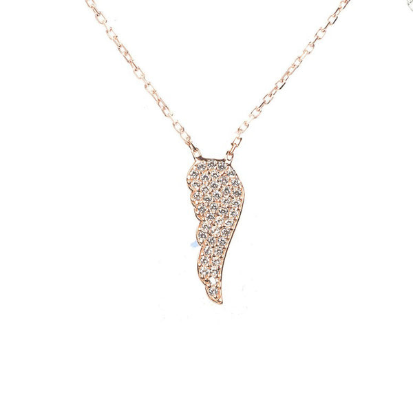 Latelita London Small Angel Wing Necklace