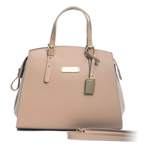 Trussardi Leather Pink Satchel Bag