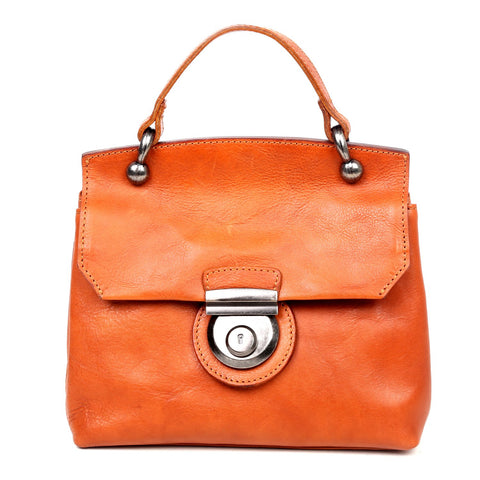 Old Trend Leather Cypress Lock Crossbody Bag