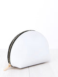 Paperthinks Recycled Leather Cosmetic Case White