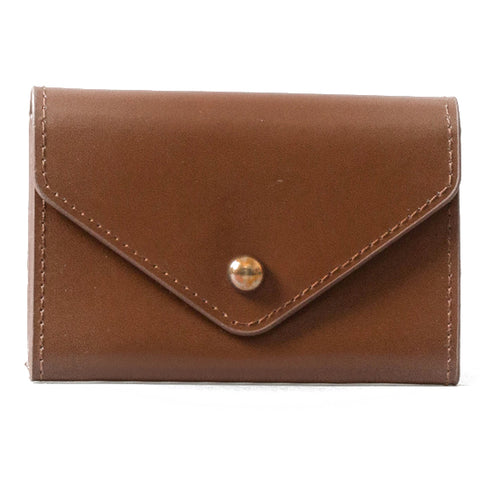 Paperthinks Recycled Leather Card Envelope Tan