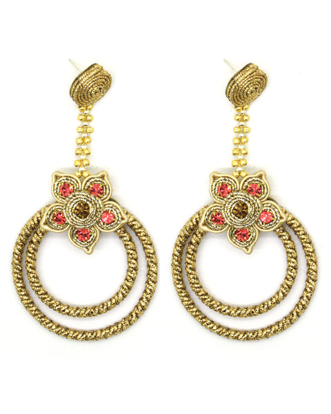 Olga Sergeychuk Hoop earrings gold