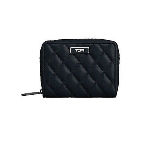 Tumi Montague SLG Zip around Black small wallet