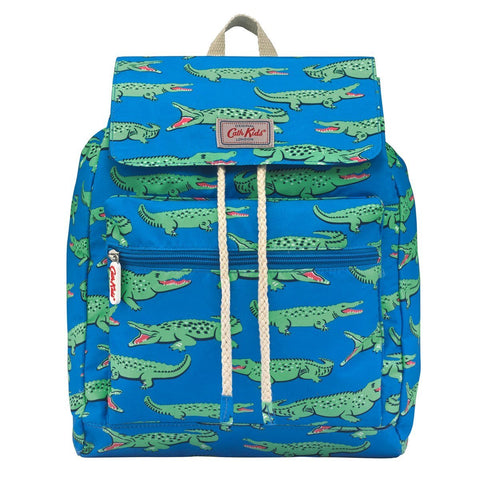 Cath Kidston Kids Crocodile Summer Backpack Blue