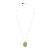 Latelita London Full Moon Necklace White Topaz