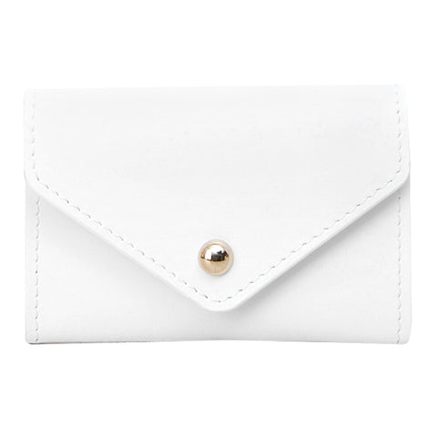 Paperthinks Recycled Leather Card Envelope White