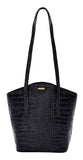 Hidesign Classic Bonn Leather Tote Black
