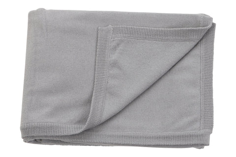 Sweet Peanut cotton cashmere blanket Grey