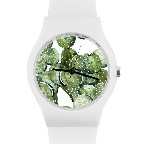 May28th Women's Watch Cactus 05:00PM White