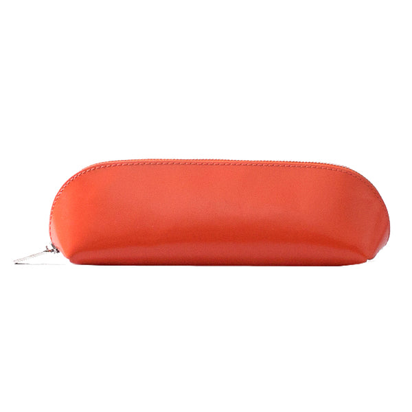 Paperthinks Leather Long Pouch Tangerine Orange