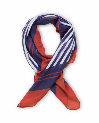 Claudia G Nautical Crepe Scarf