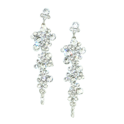 Kristin Perry Cascading Crystals Earrings