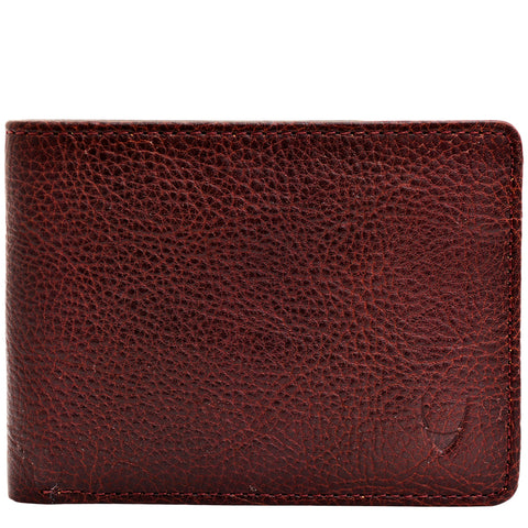 Hidesign Giles Classic Compact Thin Vegetable Tanned Leather Wallet Brown