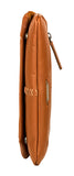 Hidesign Stitch Leather Handcrafted Cross Body Tan