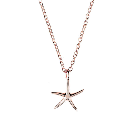 Latelita London Petite Starfish Necklace