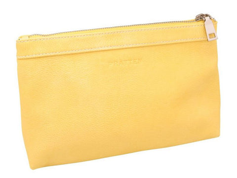 PRATTEN Zip Pouch Canary Yellow