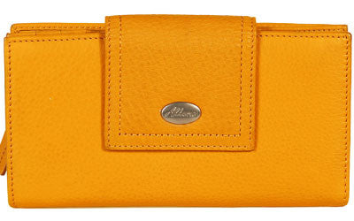 ALLORA Adele Large Wallet Yellow