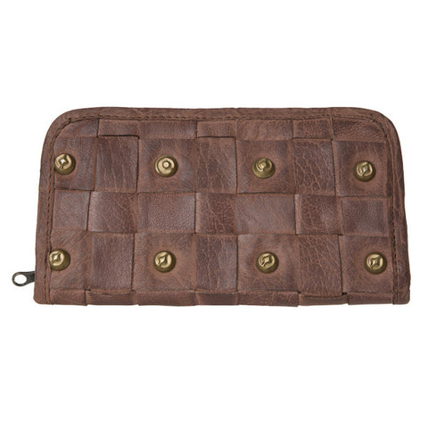CADELLE LEATHER Amazon Wallet Chocolate Brown