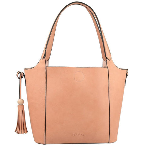 PRATTEN Barbados Shoulder Bag Blush Pink