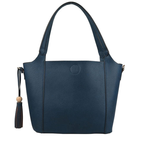 PRATTEN Barbados Shoulder Bag Navy Blue