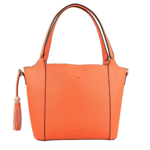 PRATTEN Barbados Shoulder Bag Orange