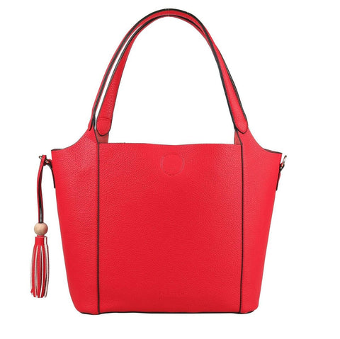 PRATTEN Barbados Shoulder Bag Red